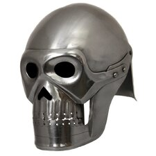 Handcrafted Fantasy Ghost Pirate Skeleton Battle Armor Helmet