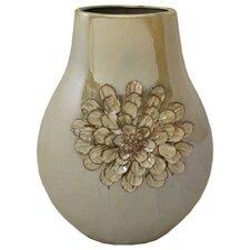 Urban Designs Artisan Handcrafted Flower Round Accent Vase