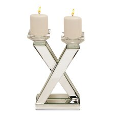 Urban Designs Glass Candle Holder