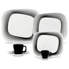 Porcelain Wisk Plate 12 Piece Set