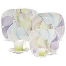 Porcelain Fusion Plate 12 Piece Set