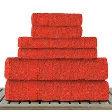 Sandra Venditti 6 Piece Bamboo Rayon Towel Set