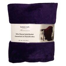 Ultra Flannel Throw Blanket