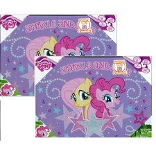 'My Little Pony Sparkle and Shine' Graphical Arts on Canvas (Set of 2)