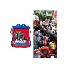 Marvel Avengers 2 Piece Beach Towel Set (Set of 2)