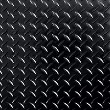 "Race Day Diamond Tread Peel and Stick 12"" x 12"" Floor Tile"