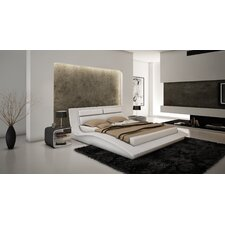 Wave Platform Customizable Bedroom Set