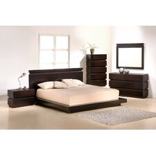 Knotch Platform Customizable Bedroom Set