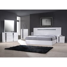 Palermo Platform Customizable Bedroom Set