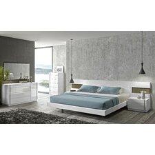 Amora Platform Customizable Bedroom Set