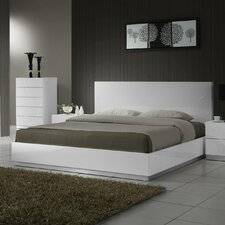 Naples Platform Customizable Bedroom Set