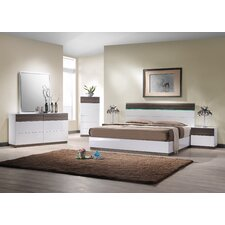 Sanremo B Platform Customizable Bedroom Set