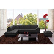 Bergamo Leather Sectional