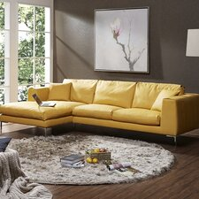 Soleil Premium Leather Sectional