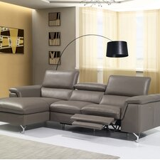 Angela Premium Leather Sectional