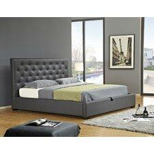 Zoe Upholstered Storage Platform Bed