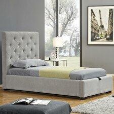 Upholstered Storage Platform Bed