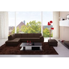 Catania Leather Sectional