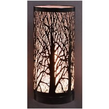 """Birch 11.5"""" Table Lamp with Drum Shade"""