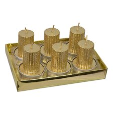 Tea Light Pillar Candle (Set of 6)