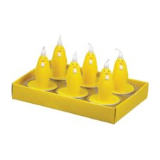 Chicken T-Lite Box Novelty Candle (Set of 6)