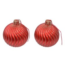 Spiral Ball Novelty Candle (Set of 2)