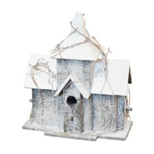 Snow Birdhouse