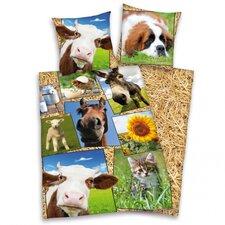 Bettwäsche-Set Young Collection aus 100% Baumwolle (Flanell)