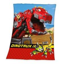 Fleece-Decke Dinotrux