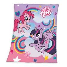 Fleece-Decke My Little Pony