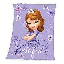 Fleece-Decke Sofia die Erste Disney