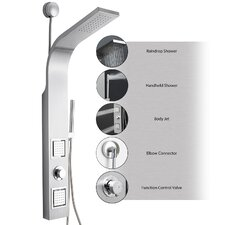 Pressure Balance Tower Shower Panel System