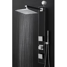 Temperature Control Tower Shower Panel System