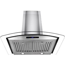 "29.5"" 400 CFM Convertible Wall Mounted Range Hood"