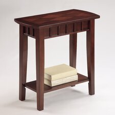 Dentil Chairside Table