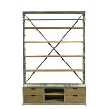 "Industrial Library 93"" Etagere"
