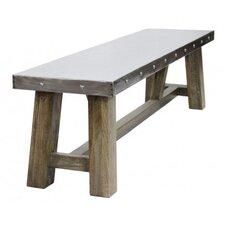 Metal/Wood Kitchen Bench
