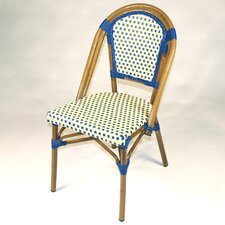 French Bistro Armless Saint Tropez Stacking Chair (Set of 6)