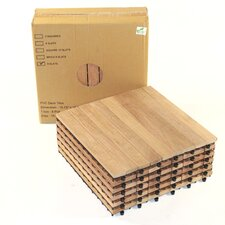 """Le Click 16"""" Hardwood Flooring in Natural"""