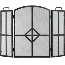 Classic Steel Fire Screen