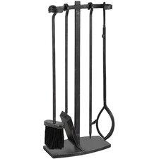 5 Piece Steel Hook Top Companion Set