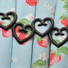 Heart Napkin Ring (Set of 2)