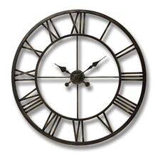 Oversized 120cm Antique Framed Wall Clock