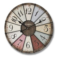 Paris Oversized Wall Clock