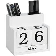 Desk Calendar Tidy Set