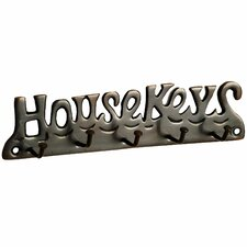 """House Keys"" Key Hook (Set of 2)"