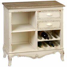 Country Bar with Wine Storage