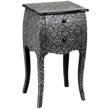 Marrakech 2 Drawer Bedside Table