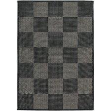 Tides Concord Black/Grey Indoor/Outdoor Area Rug