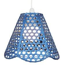 30 cm Lampenschirm aus Korbgeflecht
